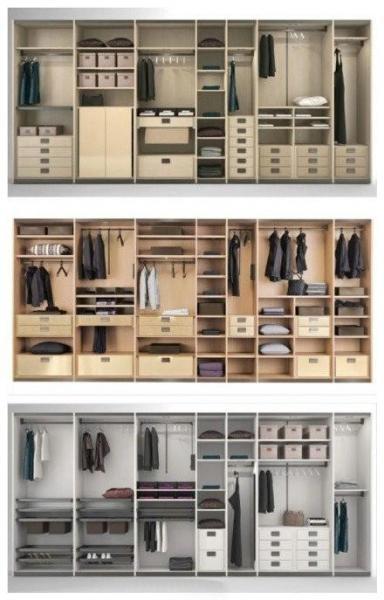 衣柜布局 1