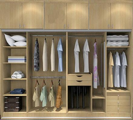 衣柜布局 6